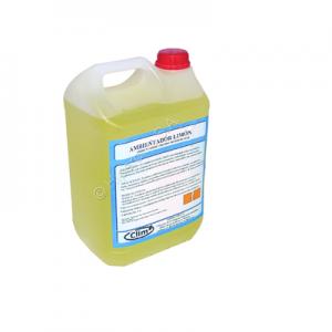 Ambientador Limón Desdorante, con esencias naturales que elimina los malos olores sin enmascararlos.