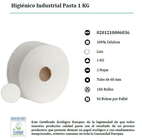 HIGIENICO INDUSTRIAL GIGANTE DE 1 KG