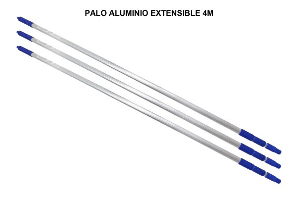 PALO ALUMINIO EXTENSIBLE PAMEX 4 METROS