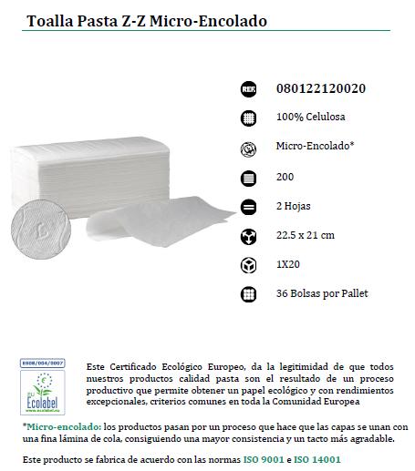 toalleta calidad pasta para el secado de manos