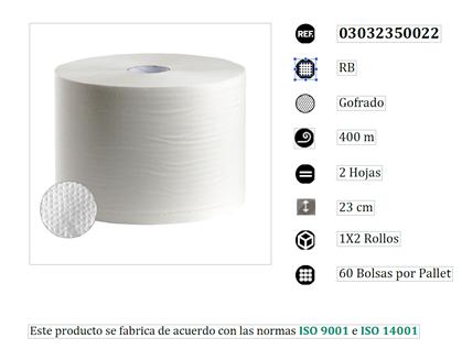 bobina papel mecanico de 3,5 kilos