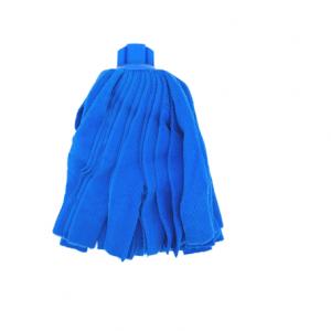 Fregona Microfibra Tiras Colores 155g (Azul)