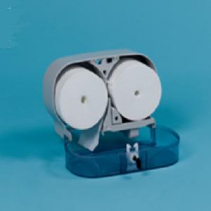 Porta rollos para papel higienico sin canuro
