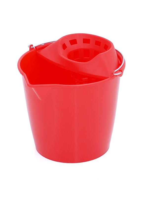 Cubo escurridor Plastiken rojo