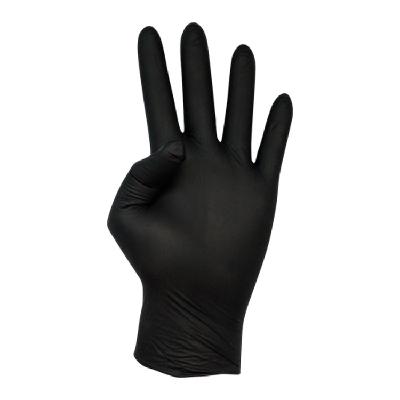 guante negro nitrilo cajas de 100
