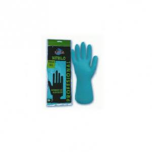 guantes profesionales de nitrilo verdes
