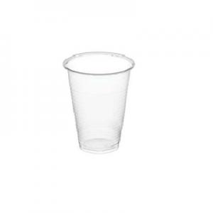 Vaso de plastico transparente