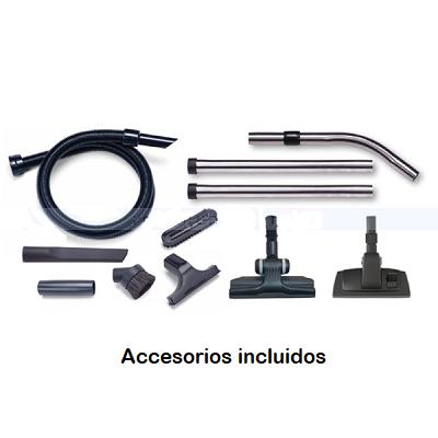 accesorios incluidos aspirador henry