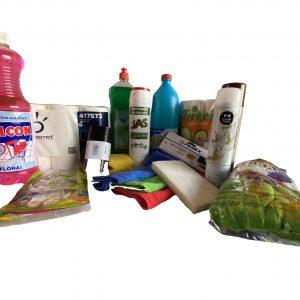 Lote productos de limpieza